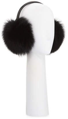 Gorski Fox Fur Earmuffs