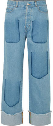 J.W.Anderson Faded Jeans - Mid denim