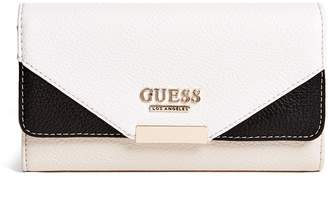 Ariella GUESS Factory Women's Color-Block Foldover Wallet