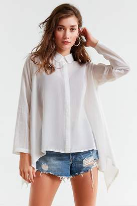 Urban Outfitters Trapeze Button-Down Shirt