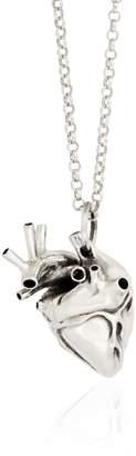 Strange Fruit - Heart Pendant Silver