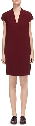 Whistles Paige V-Neck Shift Dress $230 thestylecure.com