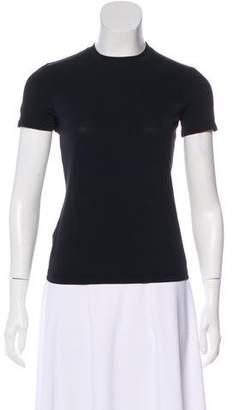Emporio Armani Crew Neck Short Sleeve Top