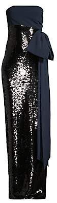 Sachin + Babi Women's Siena Strapless Sequin Column Gown