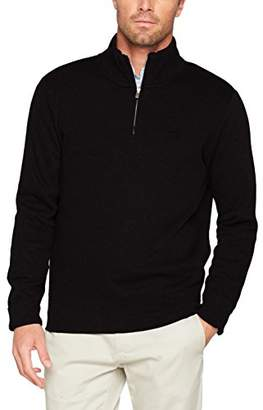 Gant Men's Sacker Rib Half Zip Collar Sweater