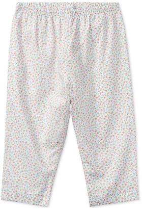 Polo Ralph Lauren Ralph Lauren Floral Cotton Pull-Up Pants, Baby Girls