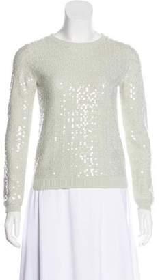 Alice + Olivia Grazi Sequin-Embellished Sweater