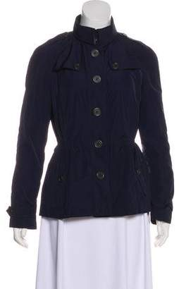 Burberry Pointed Collar Lightweight Jacket