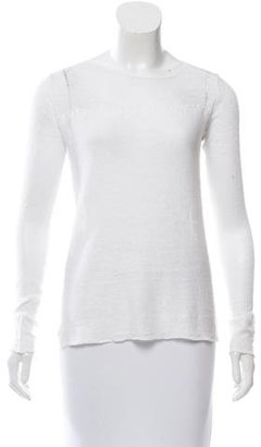Inhabit Linen Long Sleeve Top w/ Tags $125 thestylecure.com