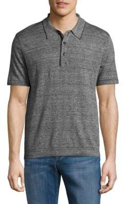 Rag & Bone Textured Cotton Polo