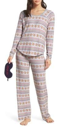 Make + Model Knit Girlfriend Pajamas