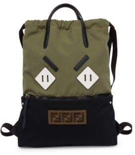 Fendi Angry Eyes Backpack Tote