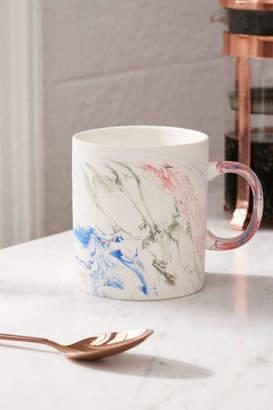 Rainbow Marble Mug