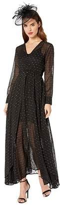 Unique Vintage Long Sleeve Farrah Maxi Dress
