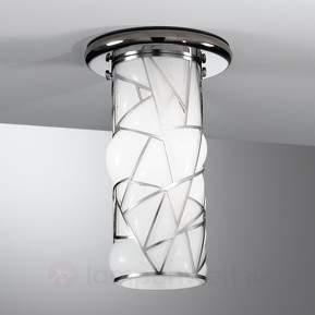 Schöne Deckenleuchte Orione, Edelstahl-Design