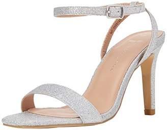 3002b1890a New Look Women's Wide Foot Sensie Open Toe Heels (Silver 92), (40