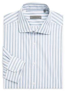 Corneliani Regular Fit Stripe Dress Shirt