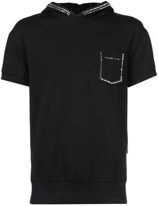 Philipp Plein hooded T-shirt