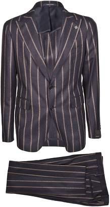 Tagliatore Striped Suit