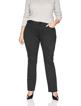 NYDJ Women's Plus Size Ponte Marilyn Straight Leg Pant