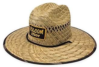 Volcom Men's Trooper Straw Lifeguard Hat
