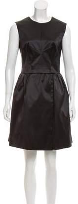 Rochas Pleated A-Line Dress