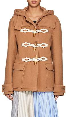 J.W.Anderson Women's Wool Melton Hooded Coat