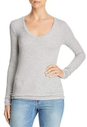 Splendid Valley Long-Sleeve V-Neck Tee