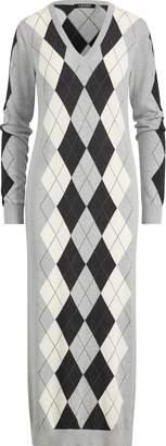 Ralph Lauren Argyle Sweater Dress
