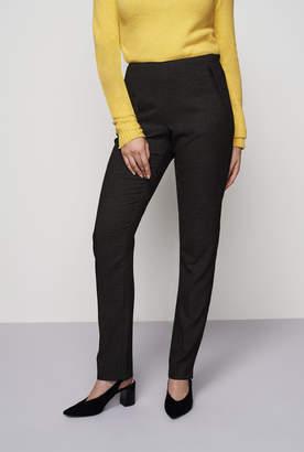 Long Tall Sally Geo Jacquard Cigarette Trousers