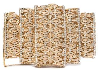 Natasha Accessories Deco Crystal Clutch