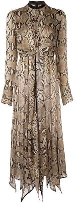 Petar Petrov Delhi python print dress