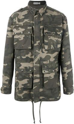 Faith Connexion Camouflage military jacket