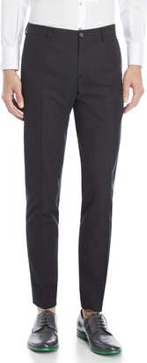 Dolce & Gabbana Textured Black Dress Pants