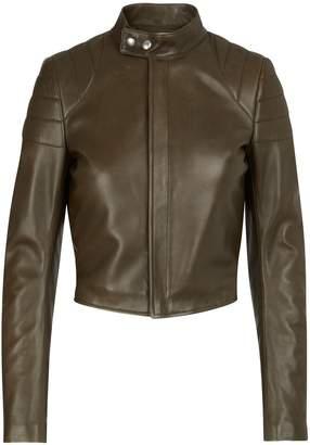 Bottega Veneta Short leather jacket
