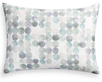 Hotel Collection Seaglass Cotton 340-Thread Count Green Standard Sham, Created for Macy's Bedding