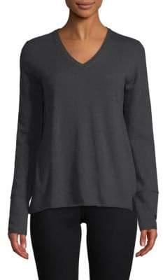 Inhabit Double Back Cashmere V-neck Sweater