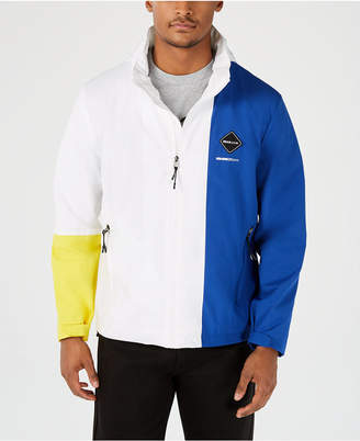 Sean John Men Hooded Colorblocked Jacket