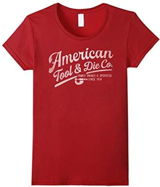 Americana American Tool & Die Co Vintage Graphic T-Shirt