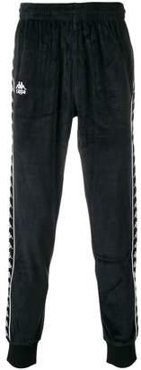 Kappa textured logo track pants