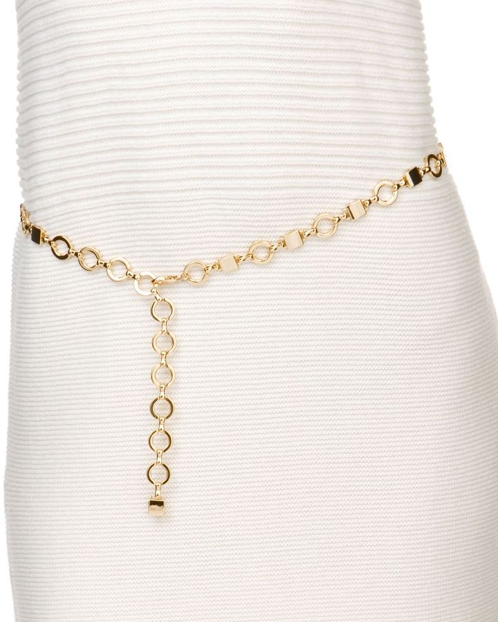 Fossil dillard's exclusive chain belt