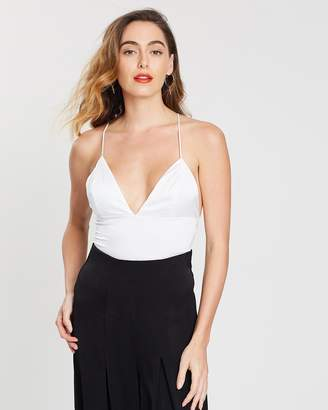 Missguided Basic Satin Bodysuit