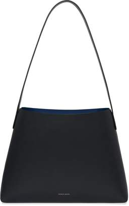 Mansur Gavriel Black Small Hobo - Blu