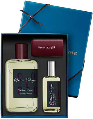 Atelier Cologne Vetiver Fatal Cologne Absolue, 200 mL with Personalized Travel Spray, 30 mL