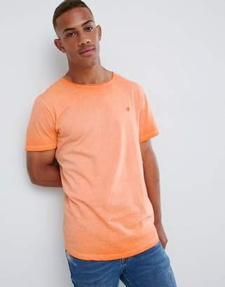Jack and Jones Originals Neon T-Shirt With Scoop Neck
