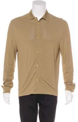 Prada Knitted Piqué Shirt