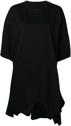 MM6 MAISON MARGIELA oversized T-shirt dress