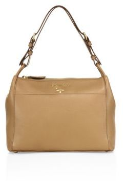 pradaPrada Pebble Leather Shoulder Bag