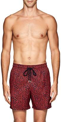 Vilebrequin Men's Mahina Fish-Print Swim Trunks