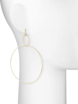 Panacea Large Double-Circle Drop Earrings
